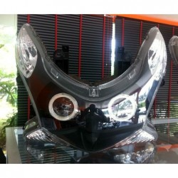 Headlight Unit Black Xenon...