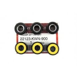 Set 6 Rollers 18g Honda PCX...